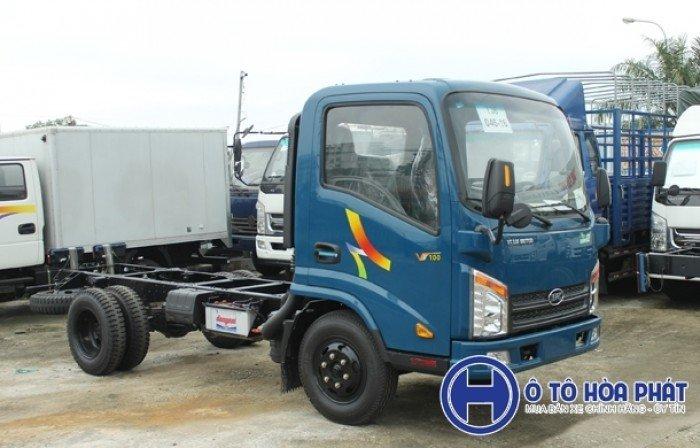 Xe tải Veam VT100 990kg máy Hyundai