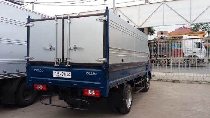 Xe tải Ollin 2 tấn 4, xe tải 2 tấn 4, xe đời 2017, giá ưu đãi hỗ trợ vay trả góp tại long an