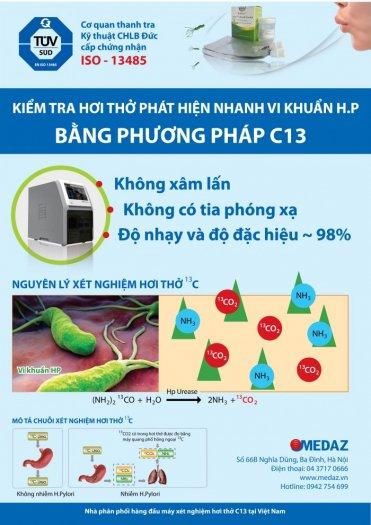Xét nghiệm HP C13 qua hơi thở