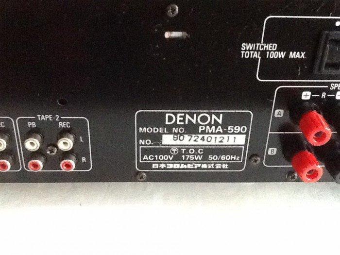 Bán chuyên Ampli denon pma 590  hàng bải tuyển chọn từ nhật về