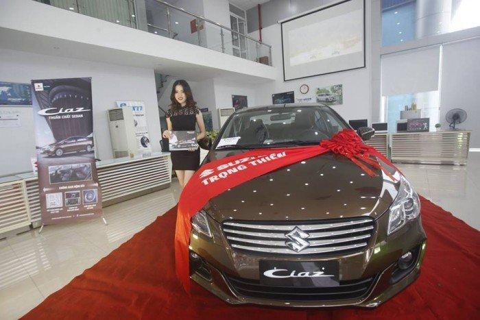 Suzuki Ciaz 2017, giá cả cạnh tranh