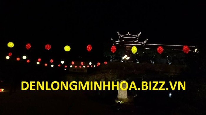 Đèn lồng minh hoa tưng bừng đón mừng ngày lễ hội tâm linh6