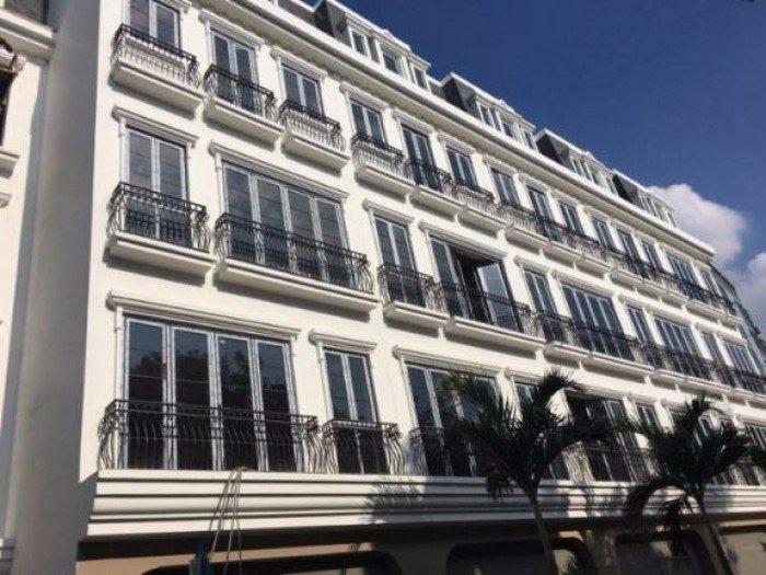 Nhà phố Five Star Mỹ Đình,có thang máy(81m2x6 tầng),hoàn thiện mặt ngoài, SDCC