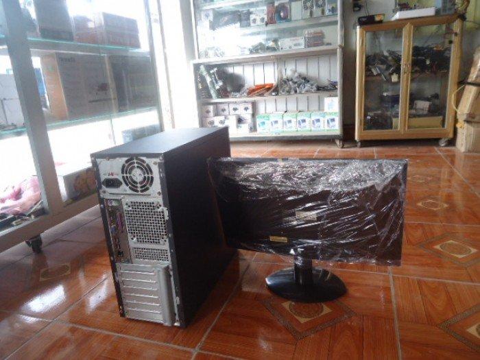 Bộ máy tính bàn G41 card rời khủng và màn hình 20,5in đèn led đẹp như mới giá rẻ4
