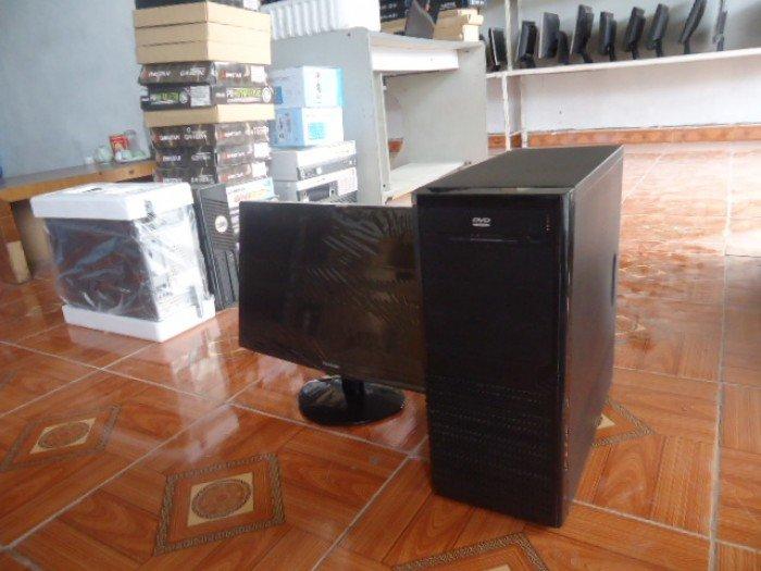 Bộ máy tính bàn G41 card rời khủng và màn hình 20,5in đèn led đẹp như mới giá rẻ5