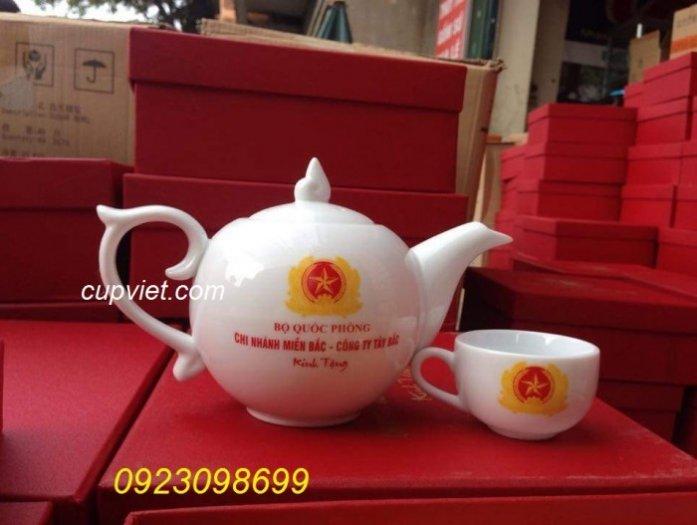 Bộ cốc, bộ chén, bộ tích uống trà, bộ ly thủy tinh quà tặng đẹp1