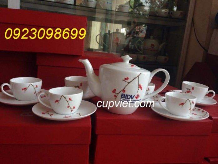 Bộ cốc, bộ chén, bộ tích uống trà, bộ ly thủy tinh quà tặng đẹp3