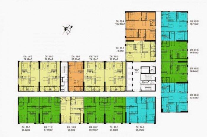 Cần tiền bán gấp căn hộ 1014 tòa CT4 dự án Eco Green City giá cả thương lượng