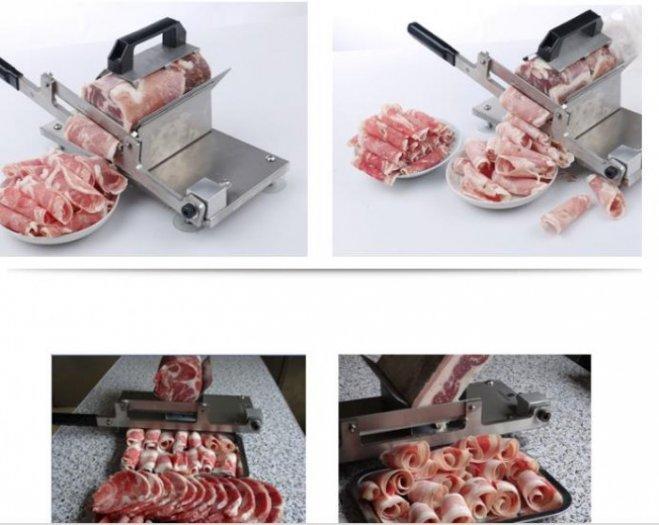 Bán dao thái thịt đông lạnh lát mỏng tới 2 mm0