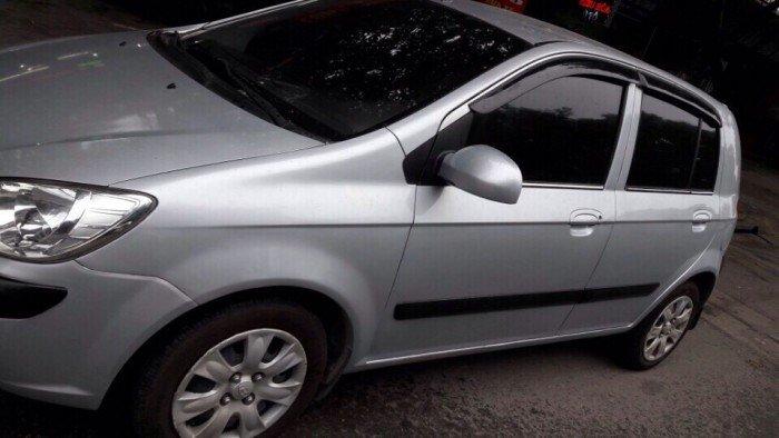 Gia đình cần bán xe huyndai Getz đời 2009, màu bạc, chính chủ, bản đủ 10