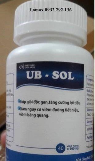 UB Sol Điều trị viêm đường tiết niệu, viêm bàng quang
