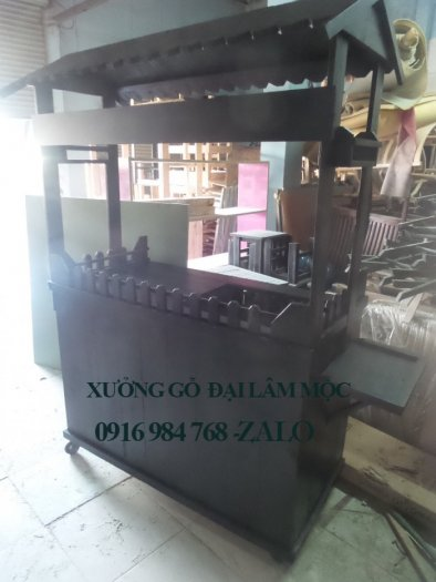 Quầy cà phê, xe đẩy take away đóng tại xưởng Thủ Đức, Hồ Chí Minh, Đồng Nai
