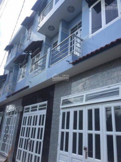 Bán nhà SHC đúc trệt 2 lầu DT: 3,6m x 5,3m giá 650tr, ngay trung tâm UB P-Thạnh Lộc, quận 12