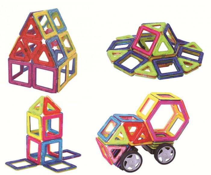 Miếng ghép nam châm MAGBO - Đồ chơi phát triển trí tuệ cho bé0
