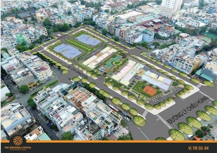 Bán căn hộ giá rẻ quận 6. View 4 mặt tiền đường. Diện tích đa dạng chỉ 1 tỷ 2. The Western Capital