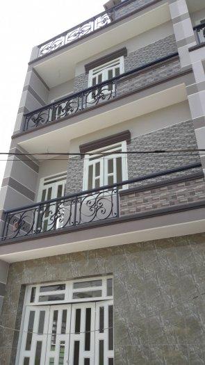 Nhà 4 phòng ngủ mới xây 845 Hương Lộ 2.Bình Tân