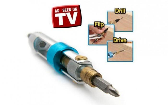 Thiết kế nhỏ gọn trong lòng bàn tay phù hợp để tháo lắp đồ gỗ, điện – �...