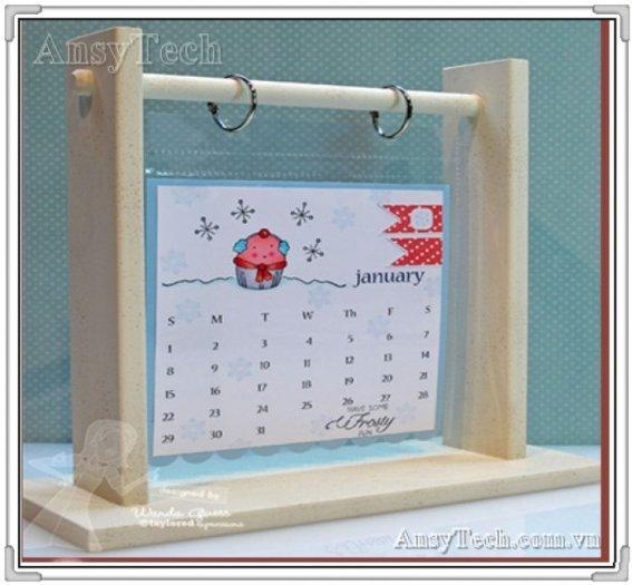 Đế lịch, quà tặng đế lịch, đế lịch bằng mica4