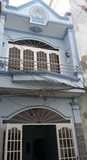 Nhà bán đường Huỳnh Văn Nghệ p12 Gò Vấp, dt: 3x6, đúc 1 lầu, giá: 850tr