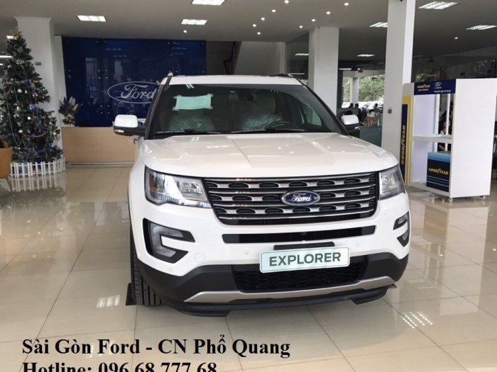 Giá xe Ford Explorer 2019 Limited