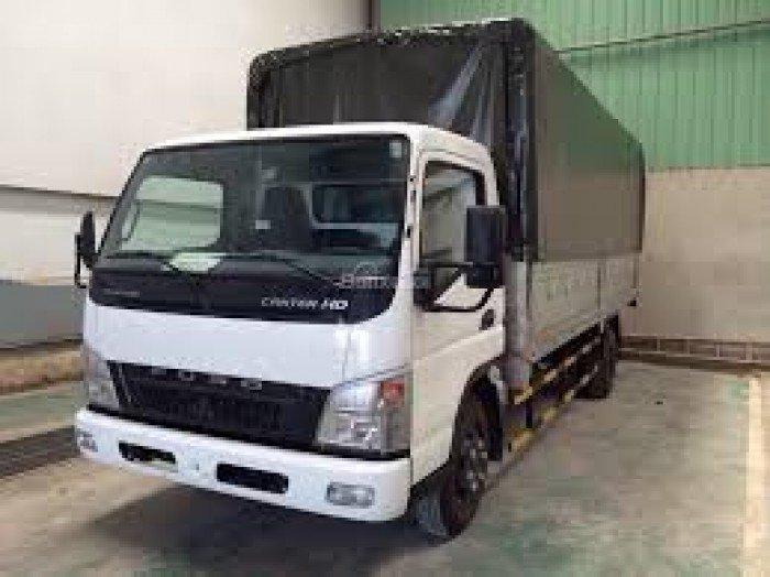 Xe tải Mishubishi Canter 8.2HD, Thùng Mui Bạc, Xe có sãn, Giao xe ngay, Giảm giá cực sốc 0