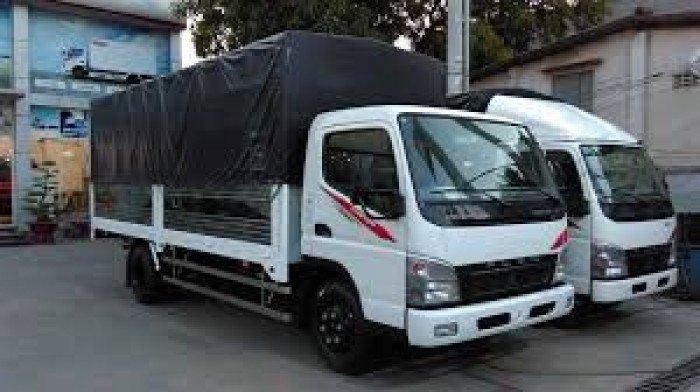 Xe tải Mishubishi Canter 8.2HD, Thùng Mui Bạc, Xe có sãn, Giao xe ngay, Giảm giá cực sốc 1