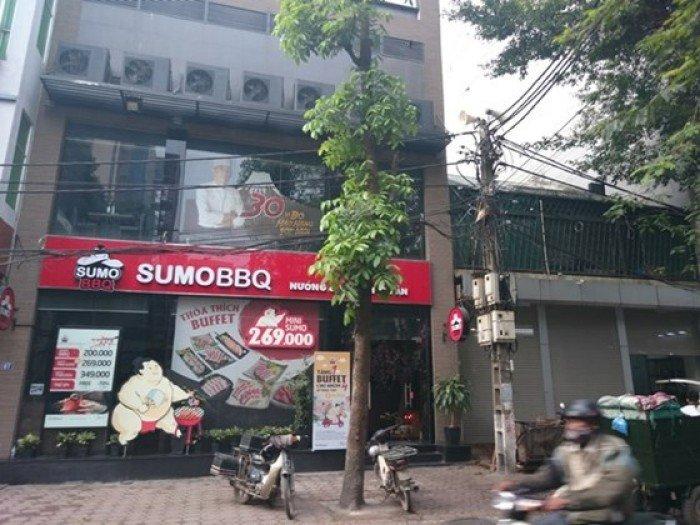 Bán nhà mặt phố Xã Đàn diện tích 151m2, mặt tiền 7m giá 311tr/m2.