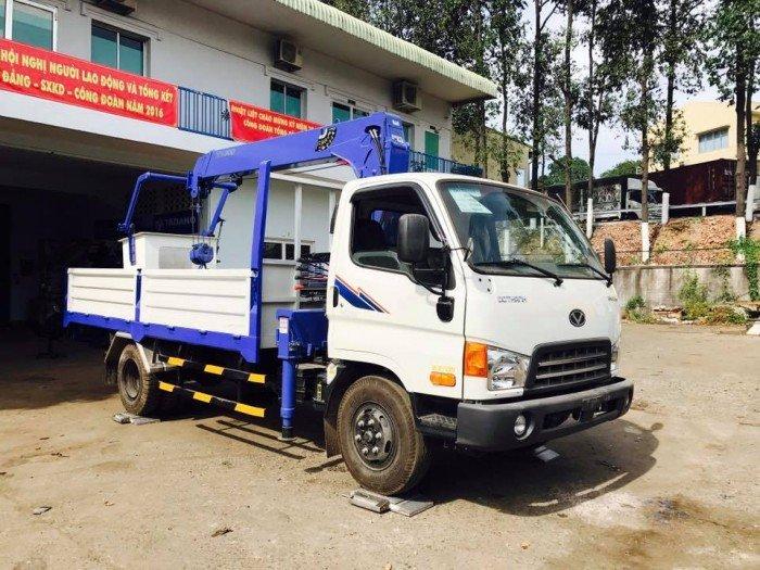 Bán xe tải gắn cẩu Tadano Hyundai HD99 5.4 tấn – Liên hệ ngay 2