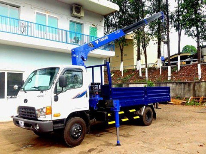 Bán xe tải gắn cẩu Tadano Hyundai HD99 5.4 tấn – Liên hệ ngay 5