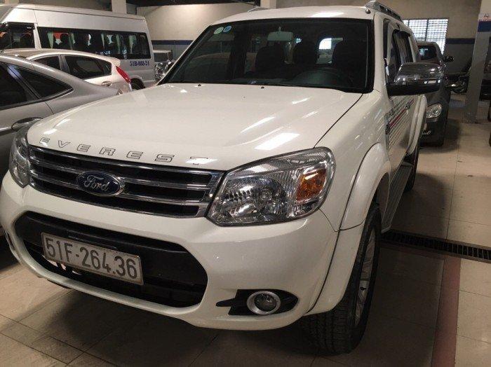 Ford Everest 2015 số sàn màu trắng 5