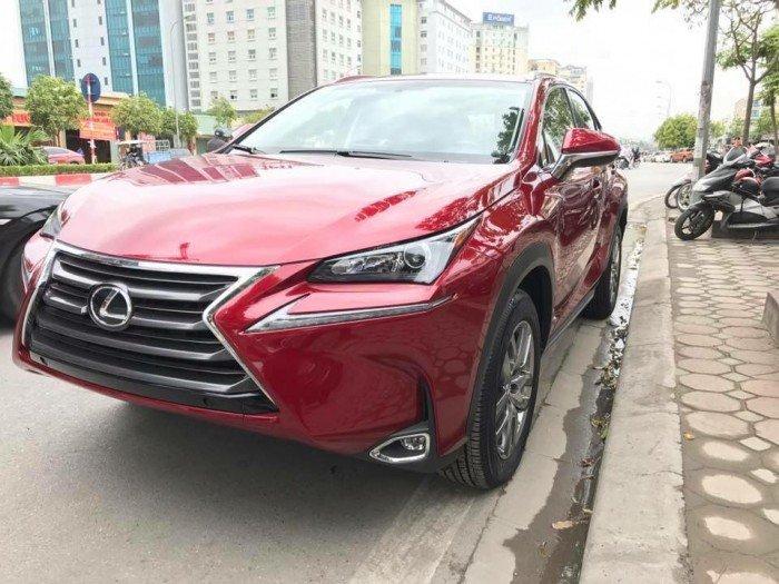 Giao ngay xe mới nhập khẩu Mỹ Lexus NX200T màu đỏ, bảo hành 36 tháng.
