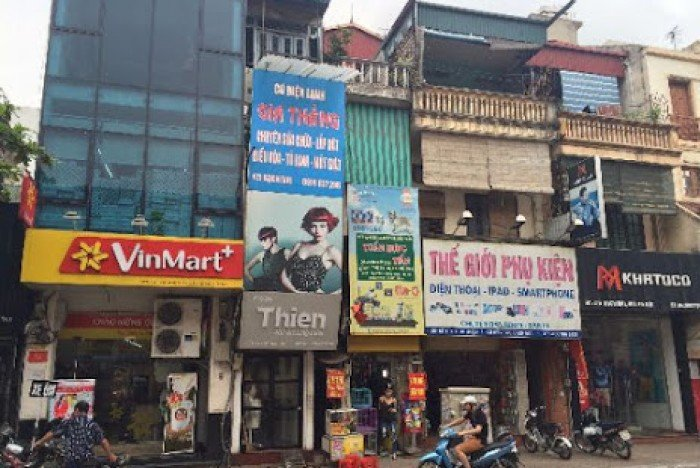 Bán gấp nhà mặt phố Trương Định 120m2, mặt tiền 7m, 13,5 tỷ.