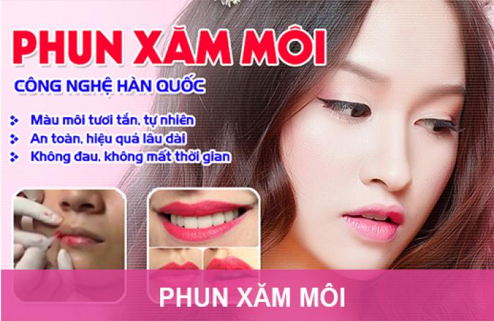 Làm Đẹp – Sau Tết –Phun Chân Mày Tản Bột/Phun Môi 3D Công Nghệ Hàn và làm hồng nhũ hoa 850K