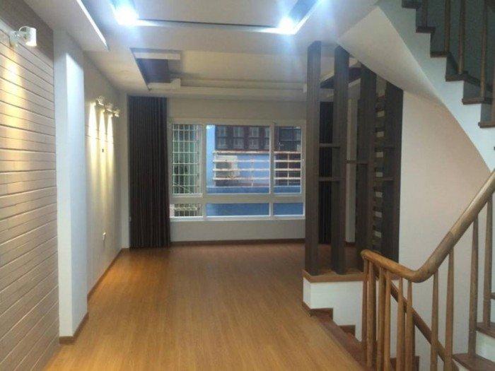 Bán nhà phố Nguyễn Khang, Cầu Giấy 64m, 5 tầng nhà mới tinh, ô tô.