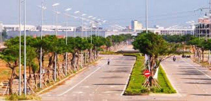 Bán 2 lô liền kề B1.17 đảo VIP khu sinh thái Hòa Xuân, mặt tiền đường hàng dừa