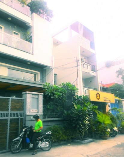Bán nhà mới diện tích đẹp 5x19,1m 4 tầng hẻm 8m Nguyễn Thái Bình, P.12, Q.Tân Bình