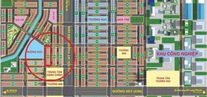 Kim Oanh chính thức mở bán Lốc H33 ,đường DH6 rộng 20m ngay khu công nghiệp Mỹ Phước 3.