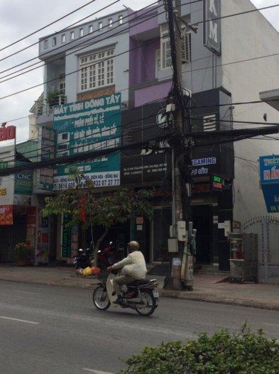 Cần bán gấp nhà mặt tiền đường Đồng Khởi , diện tích 336m2 , đang cho thuê 35triệu/tháng .