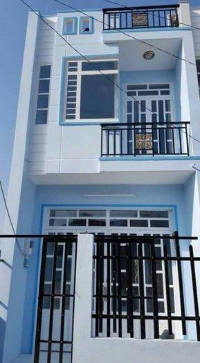 Bán Nhà mới xây DT 5 x 17m 1 trệt 1 lầu SHR_ QL50 ngã 3 Tân Kim