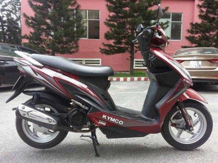 Kymco Candy 4U 110 Kiểu Dáng Honda Vision Tuyệt Đẹp