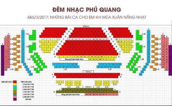Mua vé đêm nhạc Phú Quang ở đâu Hà Nội