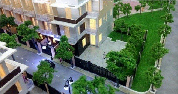 Nhà phố gần nguyễn oanh ngã tư ga. DT: 130m2, giá từ 1.6 tỷ, đường nhựa lớn, sân để ô tô