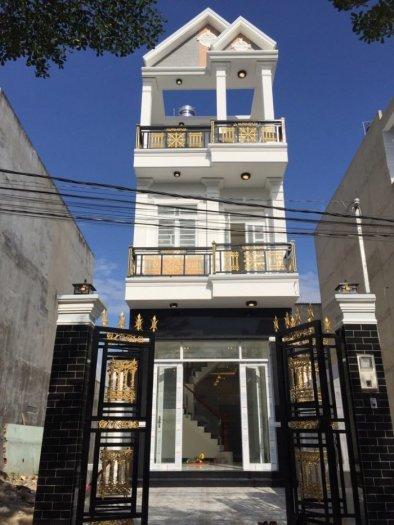 Bán nhà mới 100% tại TT Nhà Bè, cách cầu Phú Xuân 500m, giá 2.95 tỷ