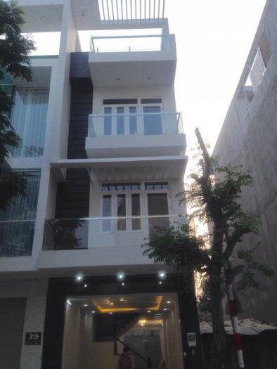 Bán nhà quận 7, nhà đẹp 4 tầng DT 4x18m, đường 12m, tặng nội thất. Giá 4.8 tỷ