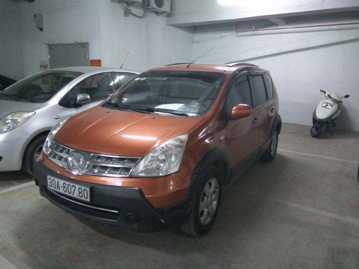 Bán xe Nissan Livina 1.6AT nhập khẩu