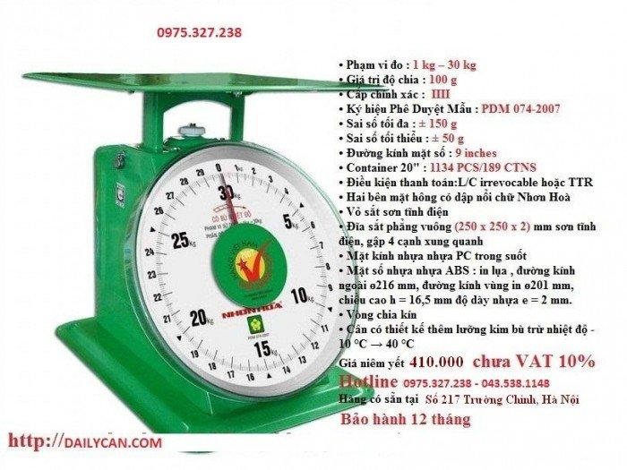 Cân đồng hồ nhơn hòa, cân nhơn hòa 100kg, cân sức khỏe nhơn hòa5