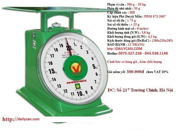 Cân đồng hồ nhơn hòa, cân nhơn hòa 100kg, cân sức khỏe nhơn hòa6