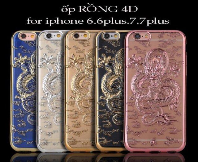 Ốp lưng rồng vàng 4d dành cho iphone 6_6plus_7_7plus0
