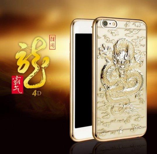 Ốp lưng rồng vàng 4d dành cho iphone 6_6plus_7_7plus1