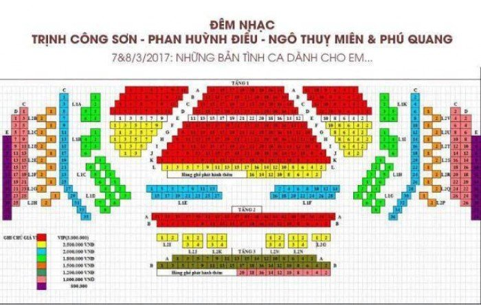 Mua vé đêm nhạc Trịnh Công Sơn ở đâu Hà Nội
